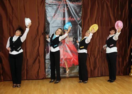 Ретро-Данс: динамичный танец от Сеньорит