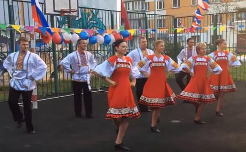 танец «Вася-Василек» (08.05.2015)