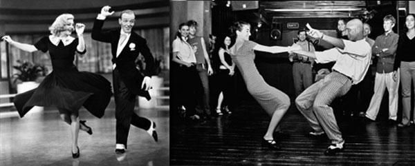 танец в стиле рок-н-ролл