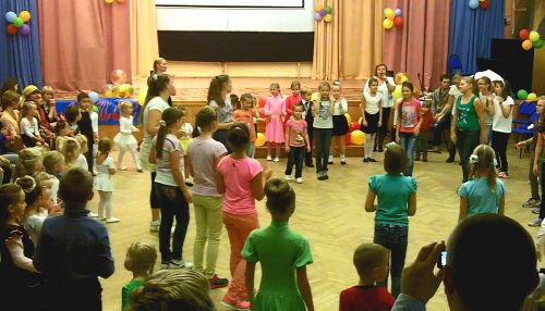 танец групповой