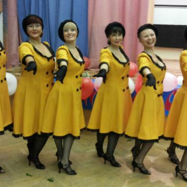 Танец «Французский вальс»: репетиция