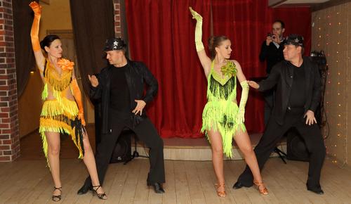 Танец «Ча-ча-ча» (28.12.2014)