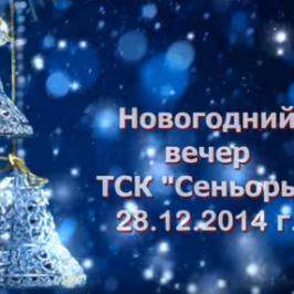 Новогодний  вечер ТСК «Сеньоры»