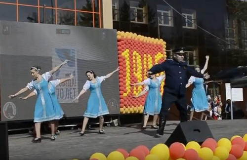 Танец «Моя Марусечка» (09.05.2015)