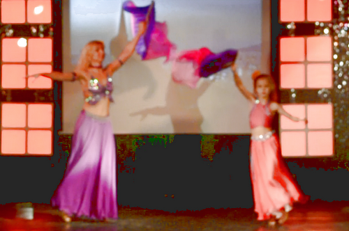 Танец «Восточная самба» 25.09.2015