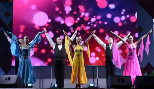 танец «Русский вальс» 5.09.2015