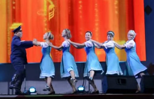 Танец «Моя Марусечка» (05.09.2015)