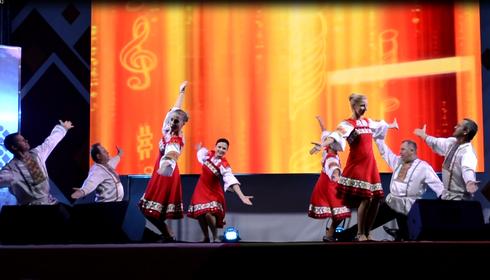 Танец «Вася-Василек» 5.09.2015