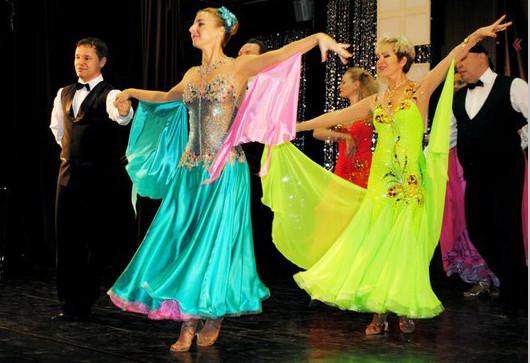 Пробный урок в школе танцев