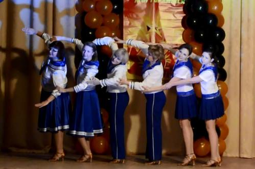 Танец «Ах море» (05.05.2016)