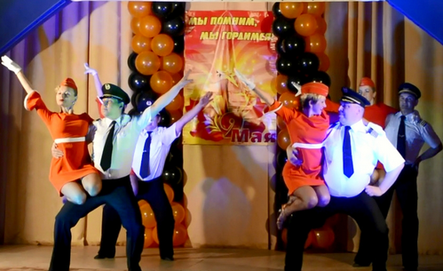 танец «Танцевальный рейс» (05.05.2016)