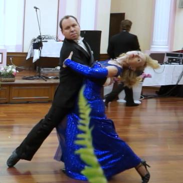 Танец Слоуфокс — медленный фокстрот