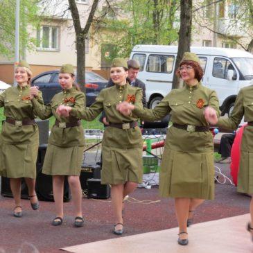 Танец «Пой, солдат» 4 мая 2017 года