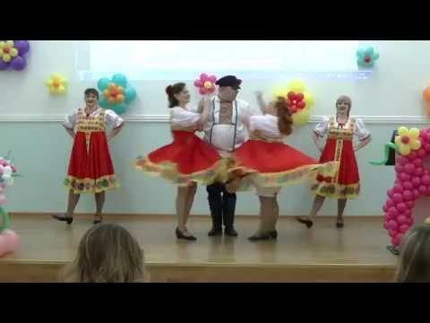 Сеньоры поздравили сотрудниц Внуковской таможни с 8 Марта