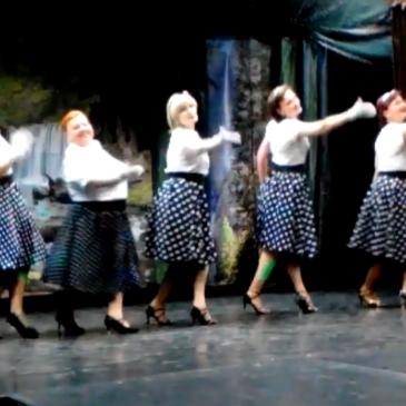 Танец Дорогие мои Москвичи (видео 27 апреля 2018 года)